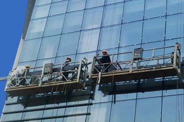 उच्च वृद्धि इमारत चित्रकलाका लागि 100 एम - 300 एम निलम्बित पहुँच प्लेटफार्महरू
