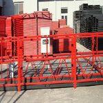 भवन सफाई निलम्बित कार्य प्लेटफार्म zlp800 800kg रेटेड लोड संग