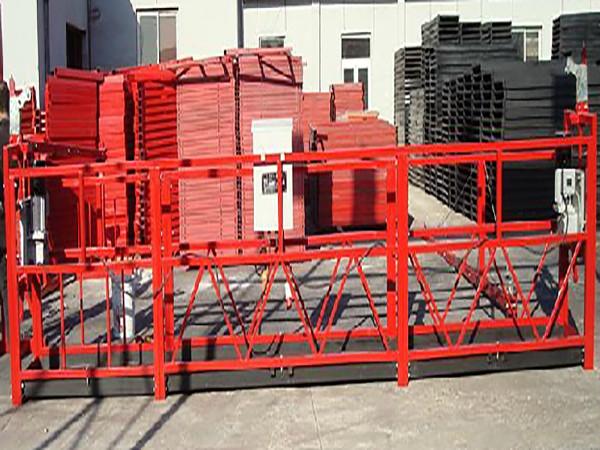 भवन निर्माण निलम्बित कार्य प्लेटफार्म Zlp800 800kg रेटेड लोड संग