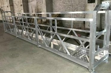 zlp800 steel suspended working platform 380v 3 phases for outer wall cleaning