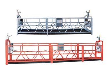 सफाईको लागि इस्पात तार 8.3 मिमी संग सुरक्षित निलम्बित पहुँच उपकरण zlp630