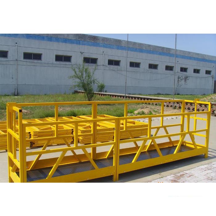ZLP 800 उच्च वृद्धि बिल्डिंग विंडो प्लेटफार्म 300M 2.5M * 3 1.8 किलोवाट 800 किलो