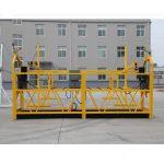 अस्थायी रूपमा निलम्बित पहुँच उपकरण / गन्डोला / पालना / मचान zlp500 स्थापित