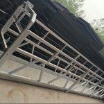 zlp630 / 800 ll आकार एल्यूमीनियम मिश्र धातु, इस्पात निर्माण खिडकियों को निर्माण मा काम मंच प्लेटफार्म लिफ्ट निलंबित