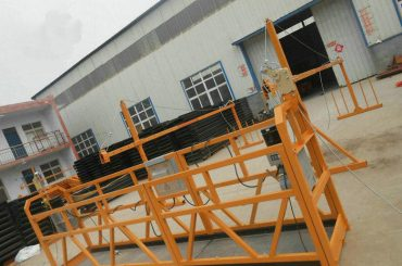 विश्वसनीय निर्माण को लागी Zlp630 पेंटिंग स्टील को कार्य मंच को निलंबित
