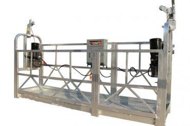 ce / iso-approved स्वीकृत zlp बिजुली निर्माण / भवन / बाहिरी भित्री निलम्बित प्लेटफार्म / पालना / गोन्डोला / स्विङ चरण / आकाश क्लिम्बी