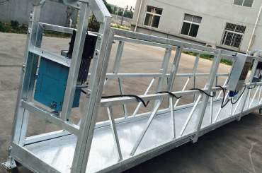 window cleaning zlp630 rope suspended platform gondola cradle with hoist ltd6.3