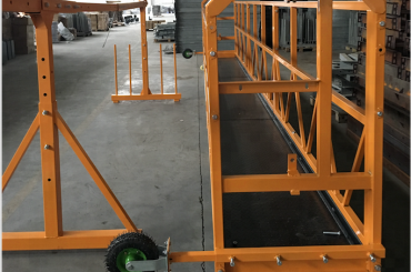 window cleaning suspended working platform safety zlp 630 with hoist ltd6.3