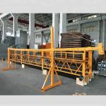 zlp 500 lp 630 अस्थायी रूपमा निर्माणको लागि तार रस्सी प्लेटफार्म निलम्बित