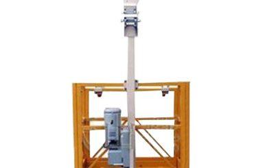 250kg एकल मानिस निलम्बित कार्य प्लेटफार्म एल स्ट्रिप्रो ltd6.3 संग hoist