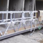 चित्रकलाका लागि उच्च सुरक्षा रस्सी प्लेटफार्म लिफ्टिङ उचाई 300m